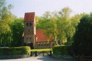 Høsterkøb kirke udsmykning kapel