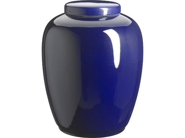 Keramik kobolt urne