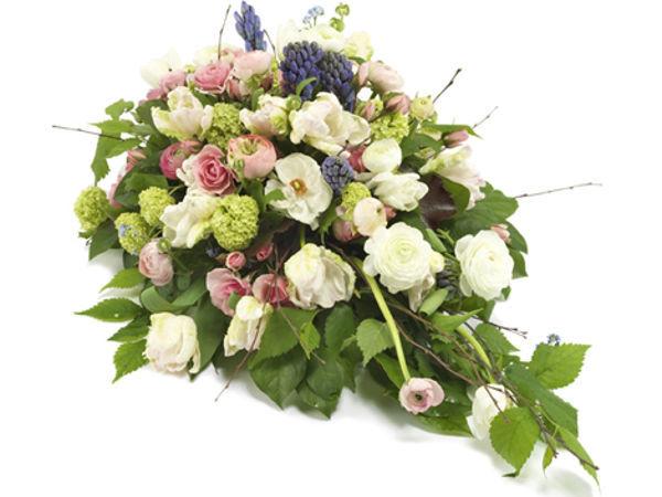 blomsterbuket 1 - bårebuket
