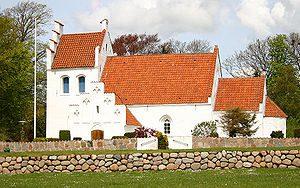 Den Fri Bedemand bruger Jyllinge Kirke