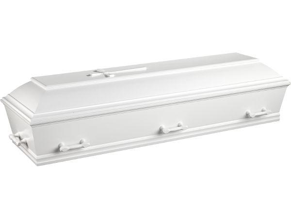 Kiste til begravelse eller bisættelse