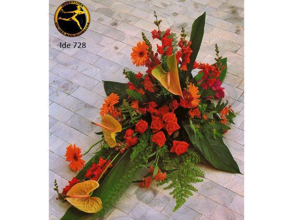 blomsterbuket 5 - bårebuket
