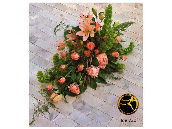 Blomsterbuket 7 - bårebuket.
