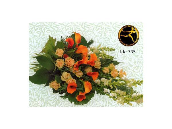 blomsterbuket 8 - bårebuket