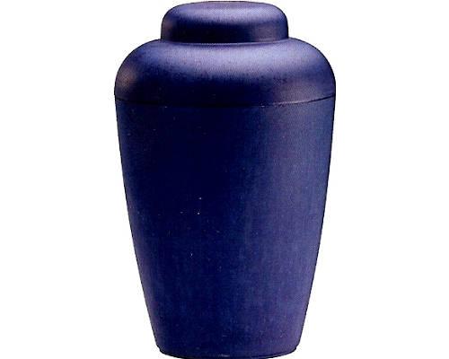 Blå natur urne